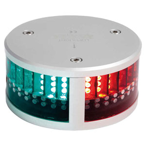 Lopolight - Series 200 tricolor navigation light with anchor and strobe LED (2nm visibility)