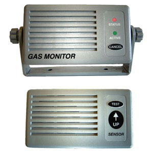 NASA -  LPG gas monitor