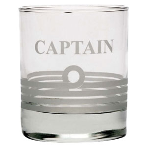 Nauticalia - Whisky tumbler 'Captain'