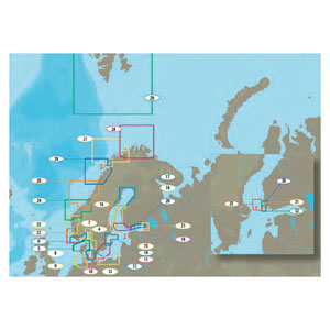 C-Map - North and Baltic Seas charts (MAX and NT+ local)